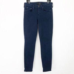 VINCE Cropped Ankle Leggings Jeans Skinny Coastal